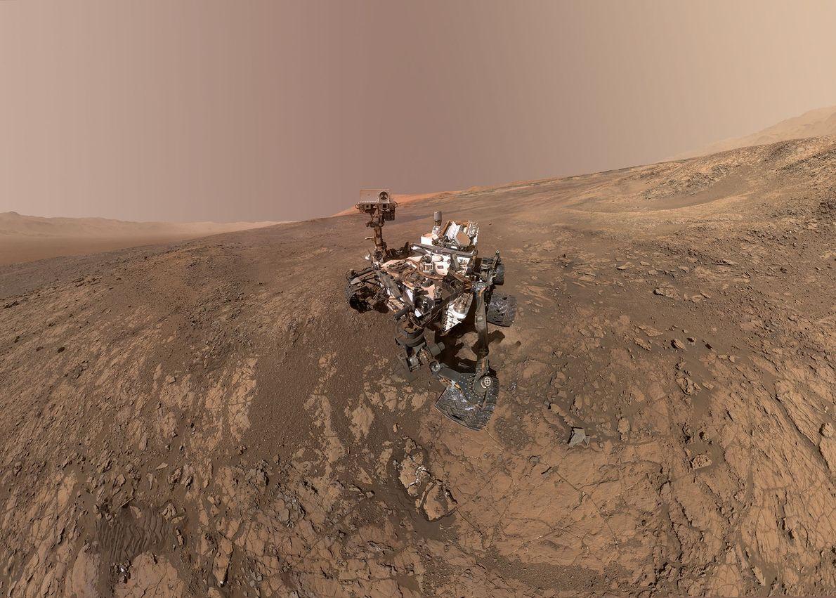 Sonda Curiosity Mars da NASA