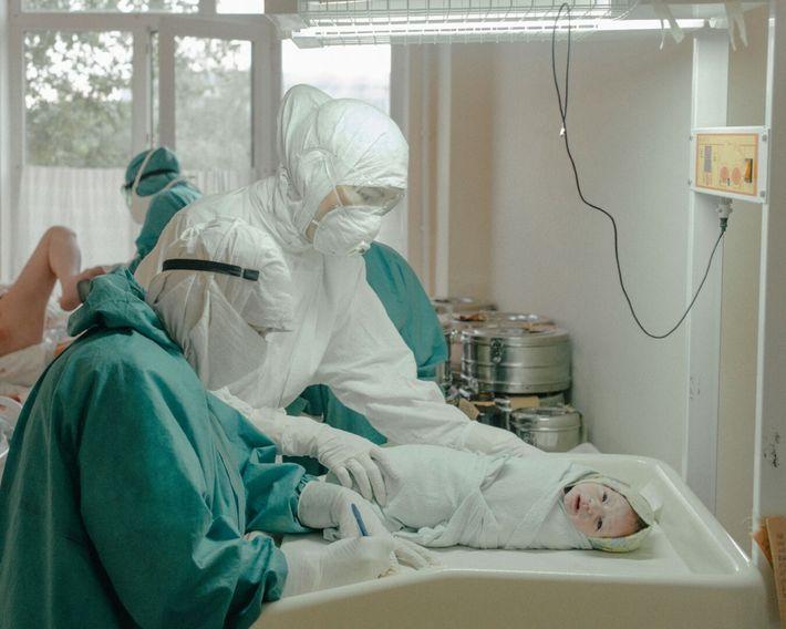 pandemia num hospital russo
