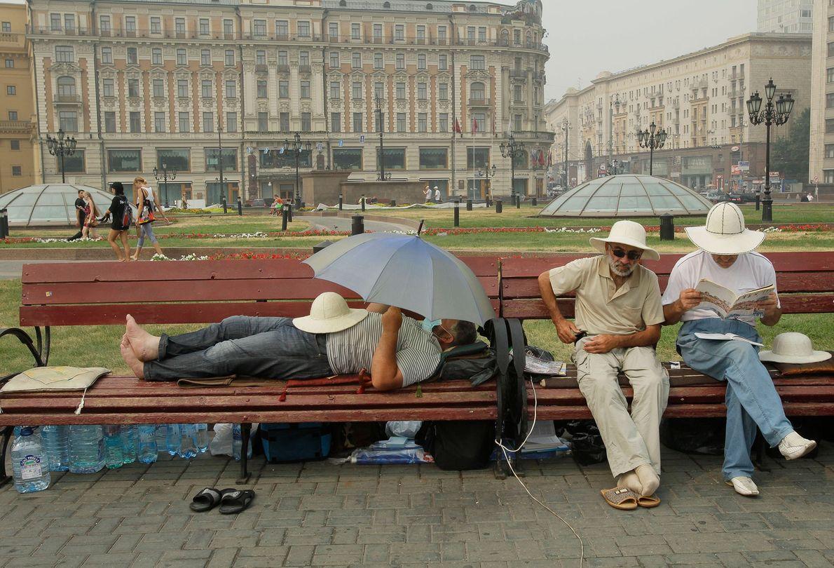 Praça Manezhaya, ao lado do kremlin, em Moscovo