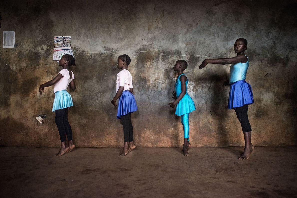 bailarinas quenia