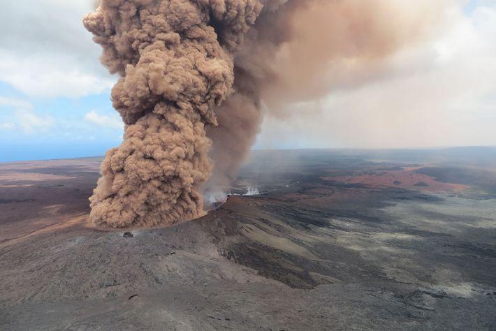 O vulcão Kilauea