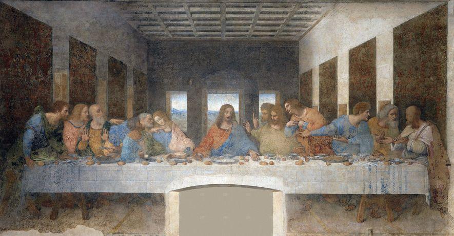 'A Última Ceia' de Leonardo da Vinci