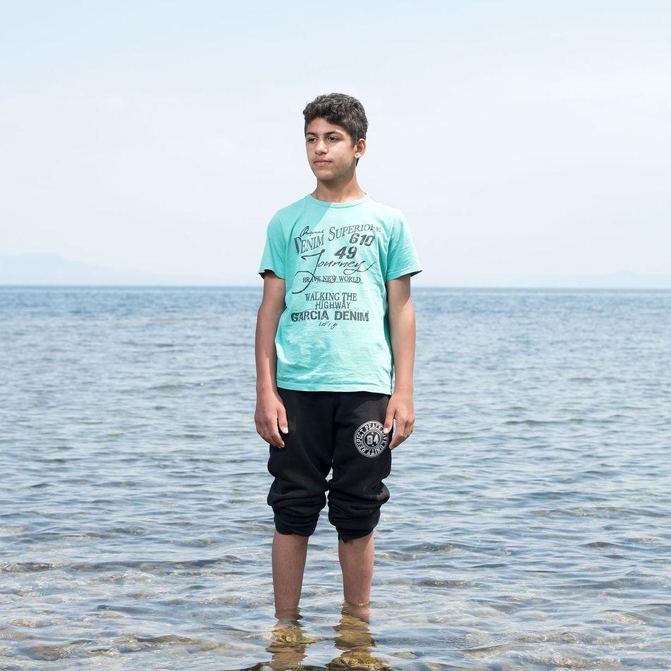 Fugidas da Guerra, as Crianças Refugiadas Debatem-se Com o Trauma Psicológico
