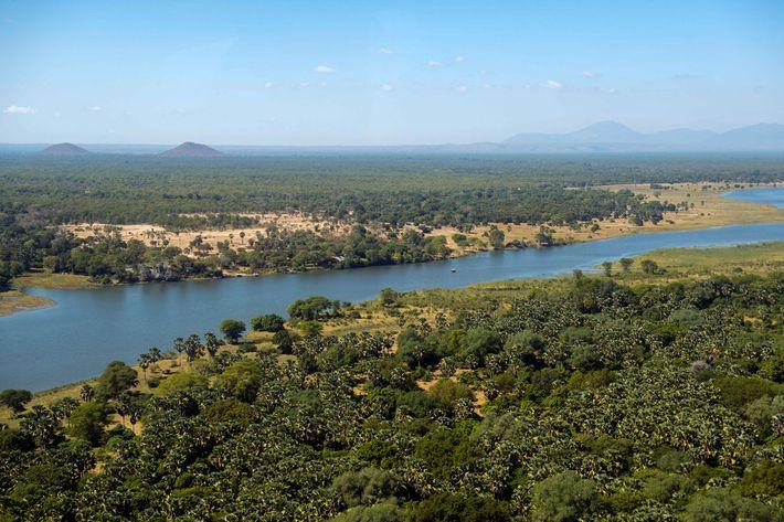 O Parque Nacional de Liwonde é um dos locais mais populares de safari do Malawi, embora ...