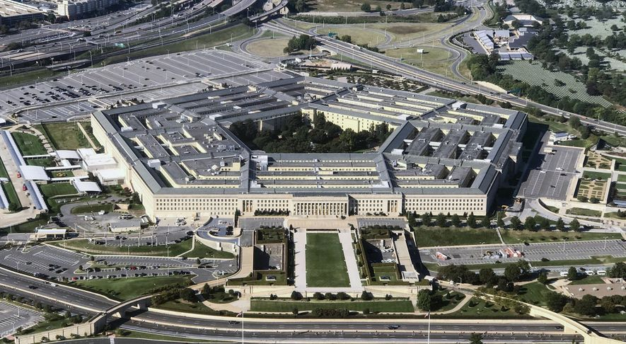 Vista aérea do Pentágono