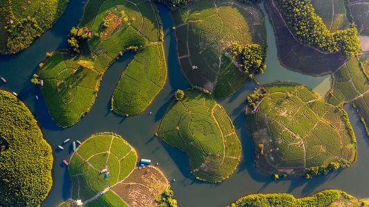 Vietname Visto do Ar em Fotografias Deslumbrantes