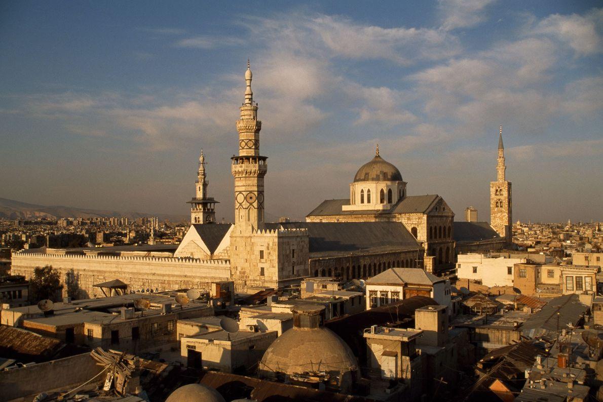A Grande Mesquita de Damasco foi construída há 1.300 anos, quando a cidade servia de capital ...