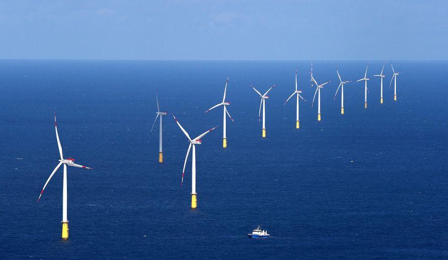 No Mar do Norte, o parque eólico DanTysk fornece energia sem carbono à cidade de Munique.