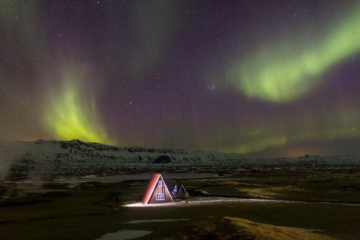 Arquitetura caraterística da Islândia