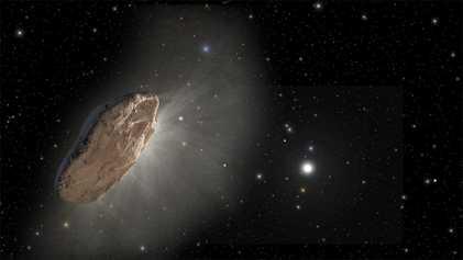 Avistado Cometa Bizarro de Outro Sistema Estelar