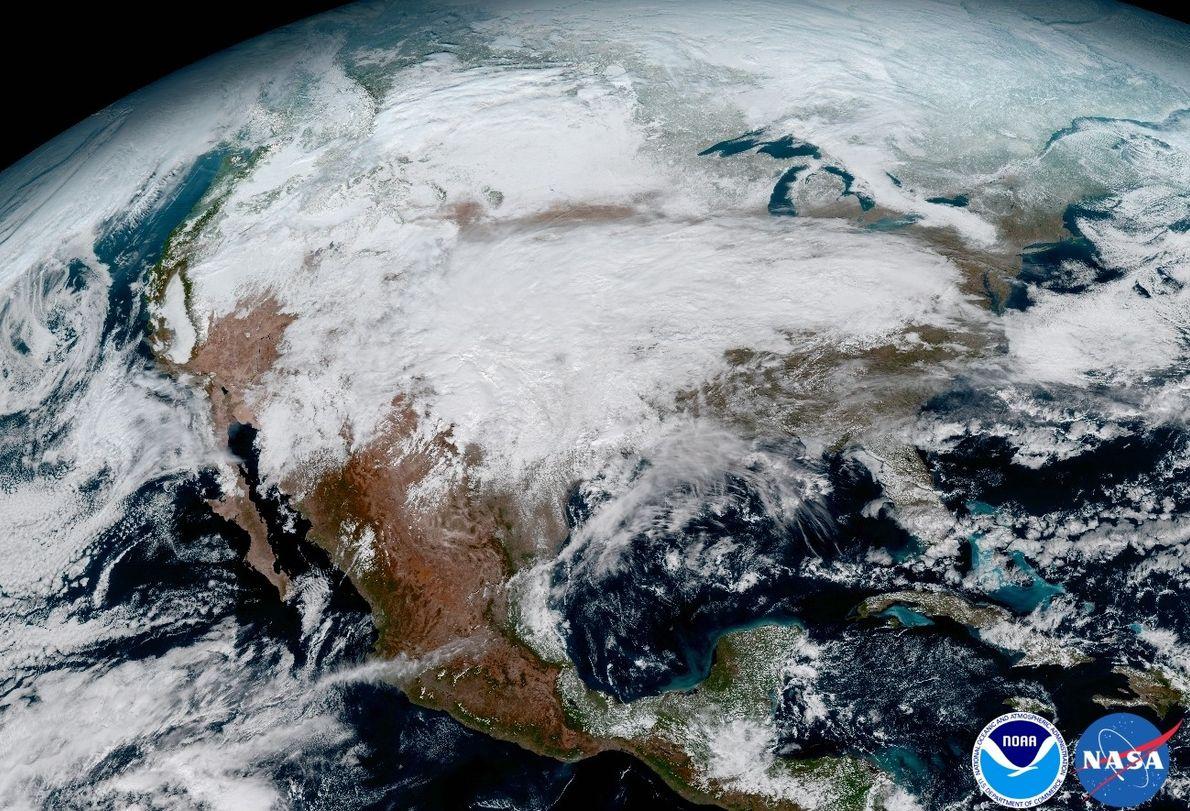 Imagem da América do Norte