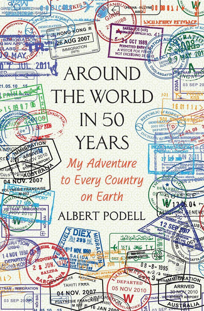 Fotografia da capa de Around the World in 50 Years por Albert Podell