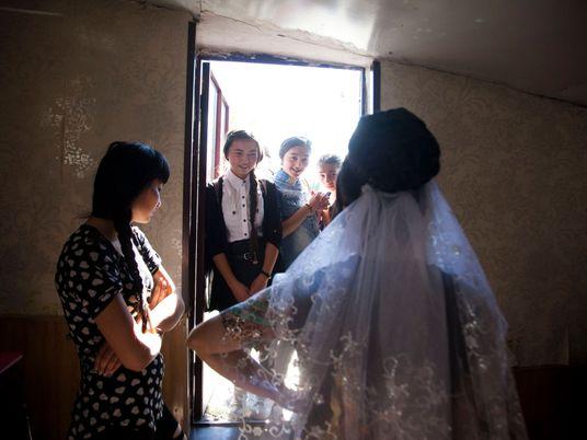 Na vida das noivas-criança da Georgia
