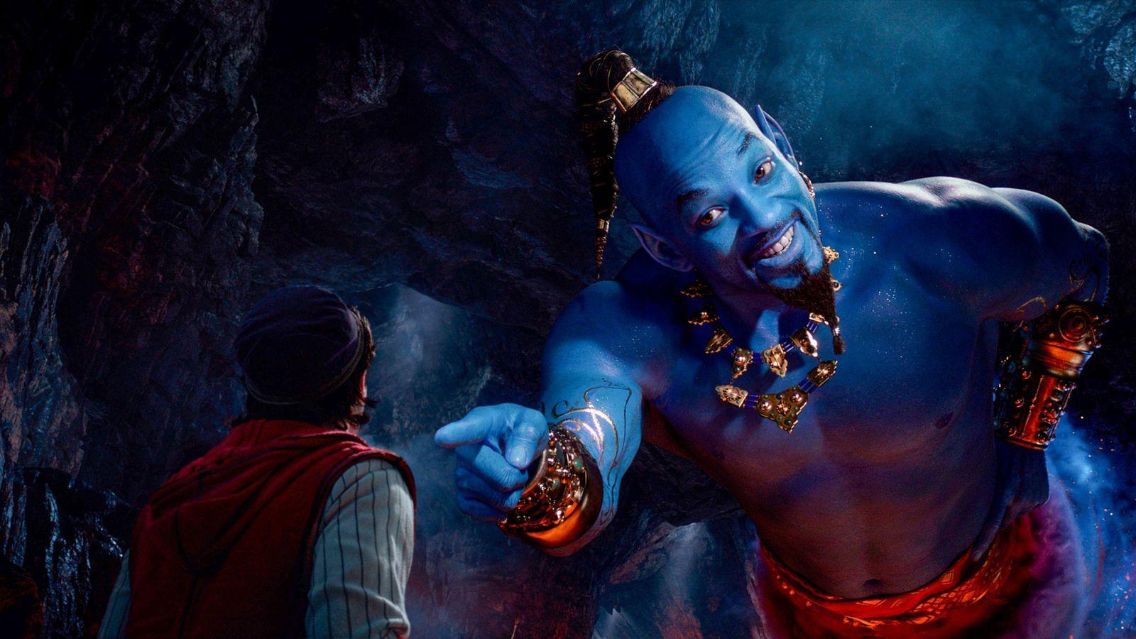 Will Smith interpreta o papel de génio com poderes cósmicos fenomenais que habita num espaço minúsculo, ...