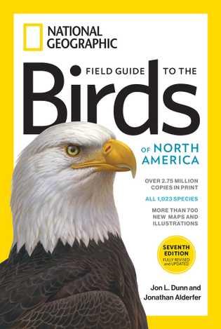 O livro Field Guide to the Birds of North America