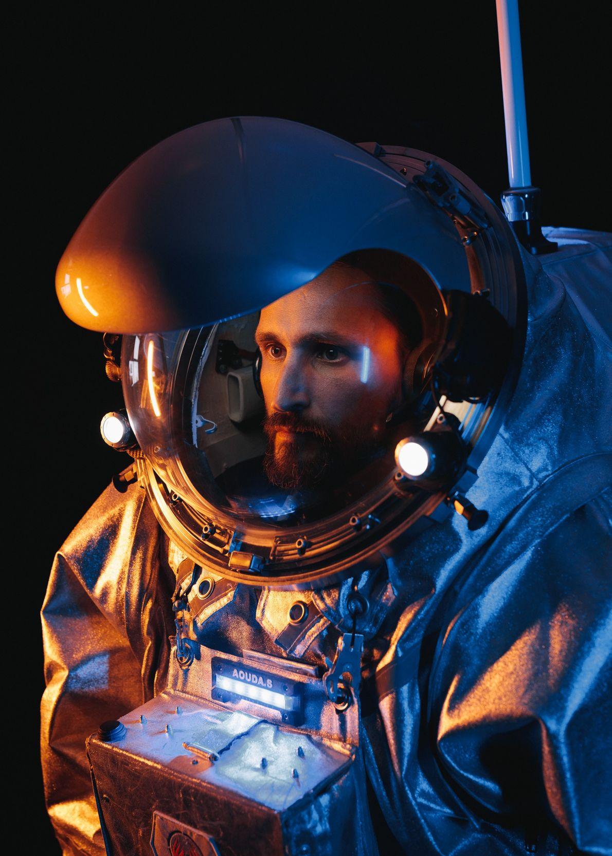 Iñigo Muñoz Elorza, astronauta análogo da AMADEE-18