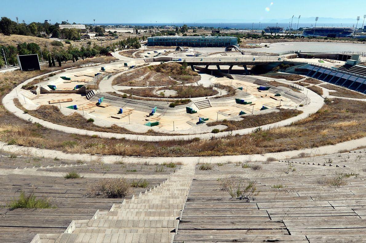 Os Estádios Abandonados de Jogos Olímpicos Passados