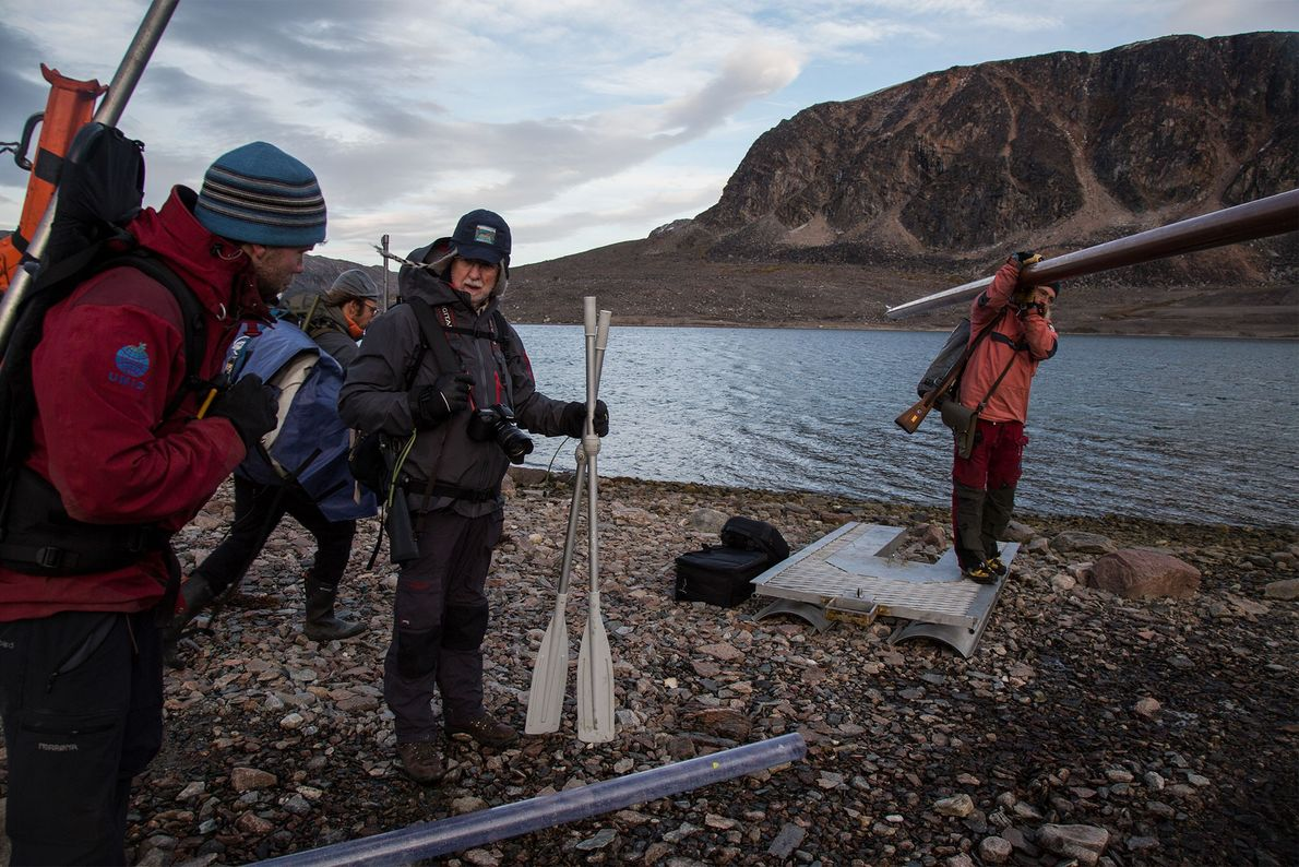 cientistas Svalbard