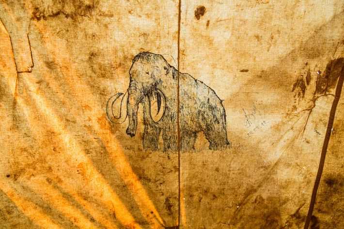 Mamute desenhado