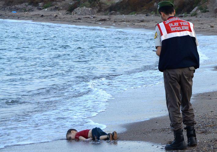 Fotografia de criança Síria