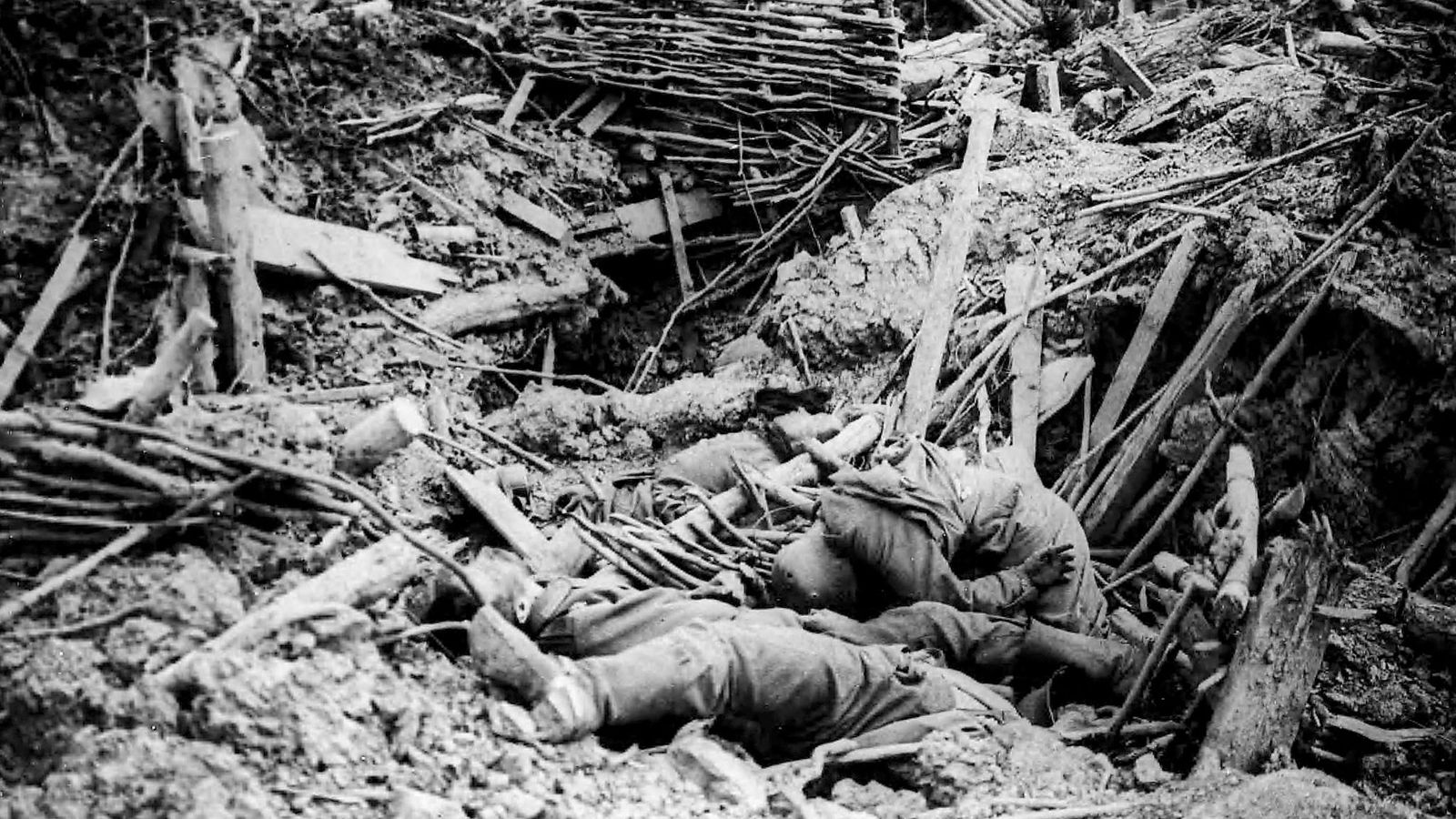 Detonação de 19 minas na Batalha de Messines