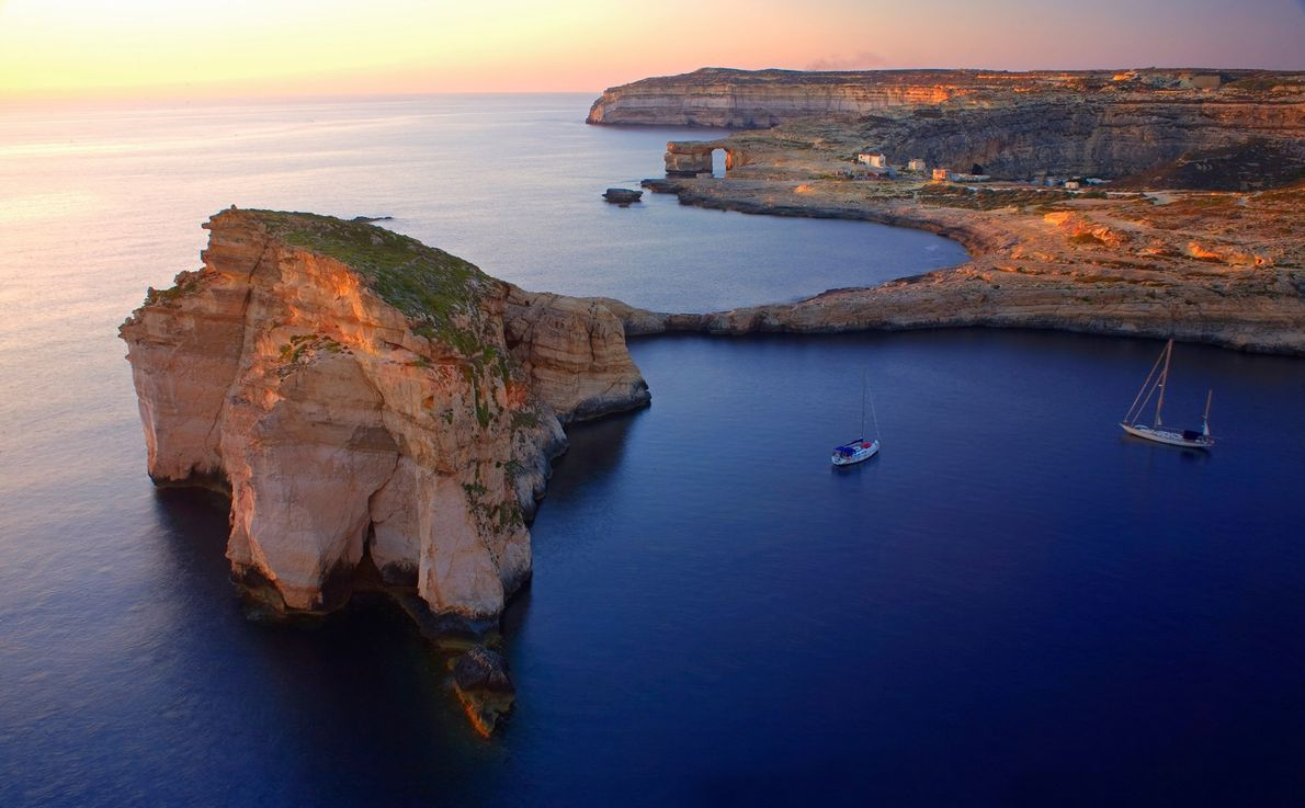 ILHA DE GOZO, MALTA – Gozo fica a apenas 25 minutos de ferry de Malta, mas ...