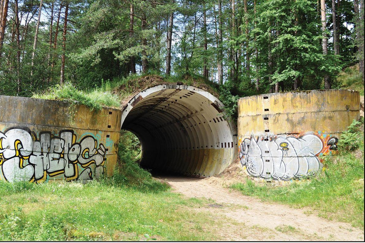 Bunker em Brzeźnica Kolonia