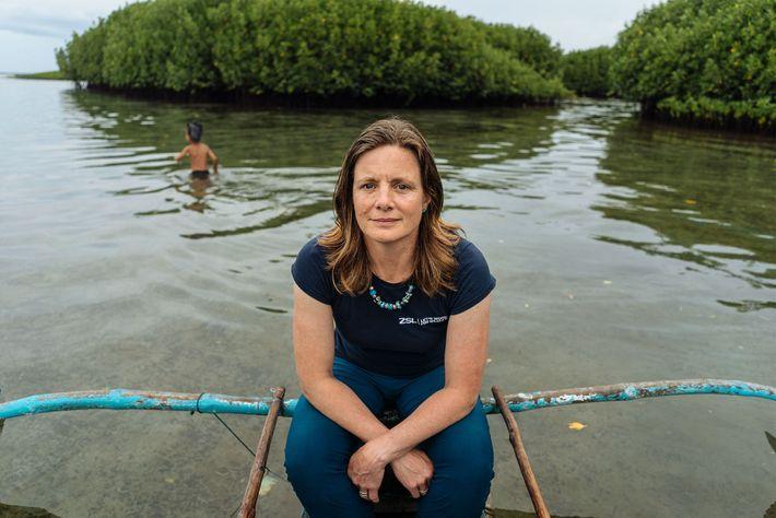 Heather Koldewey, membro da National Geographic e exploradora.