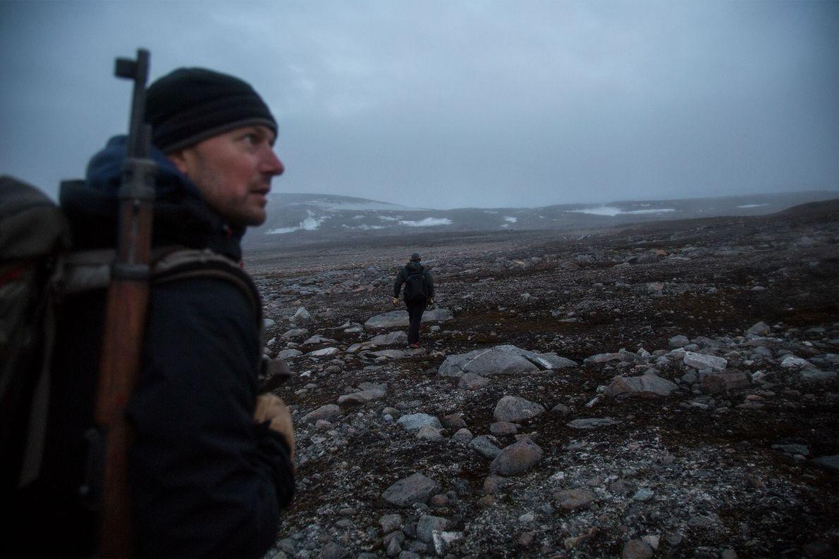 glaciar svalbard William D'Andrea