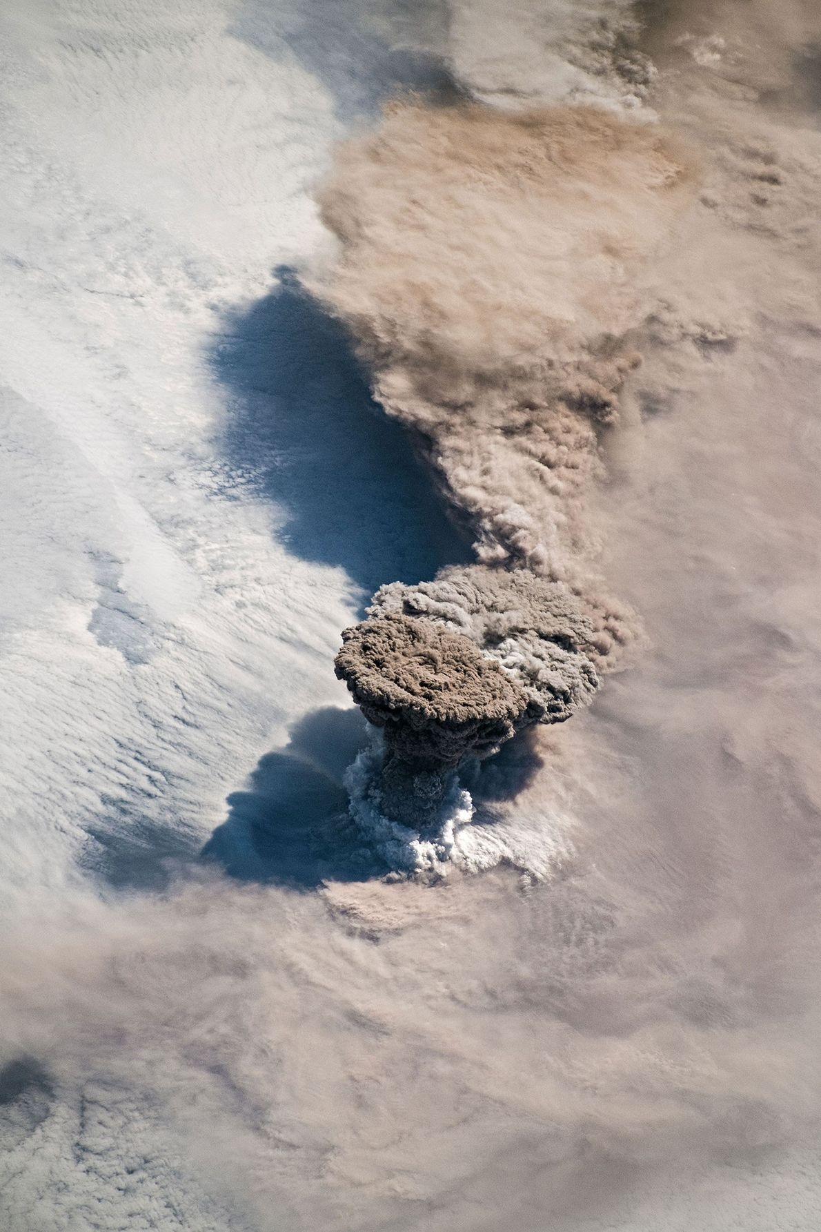 Na manhã do dia 22 de junho, os astronautas a bordo da Estação Espacial Internacional tiraram ...