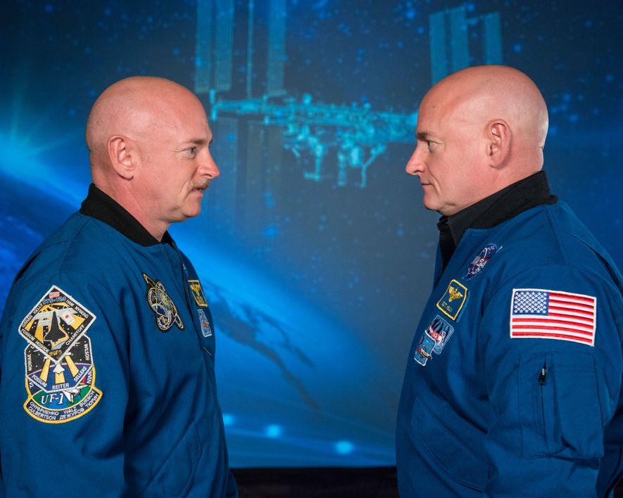 Irmãos gémeos e ambos astronautas, Mark e Scott Kelly foram alvo de um projeto científico que ...