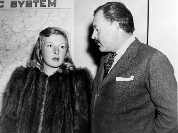 Martha Gellhorn e Ernest Hemingway