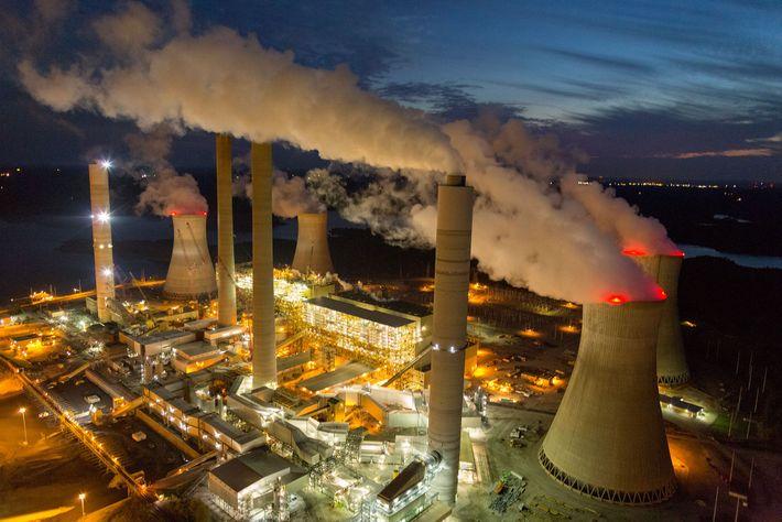 Centrais alimentadas a carvão