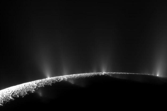 Enceladus Lua Saturno