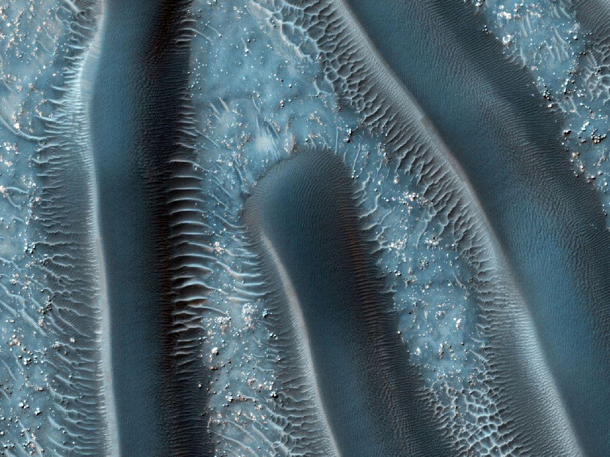 As dunas de areia.