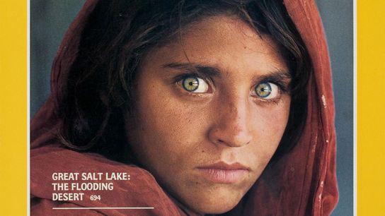 A Icónica Capa da 'Rapariga Afegã'