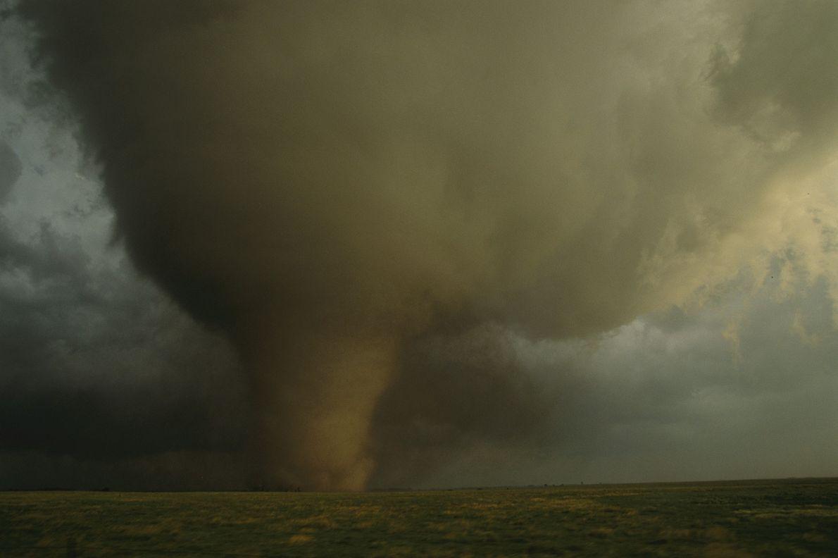 """O leste do Colorado e Dakota do Sul formam o """"Vale dos Tornados"""""""