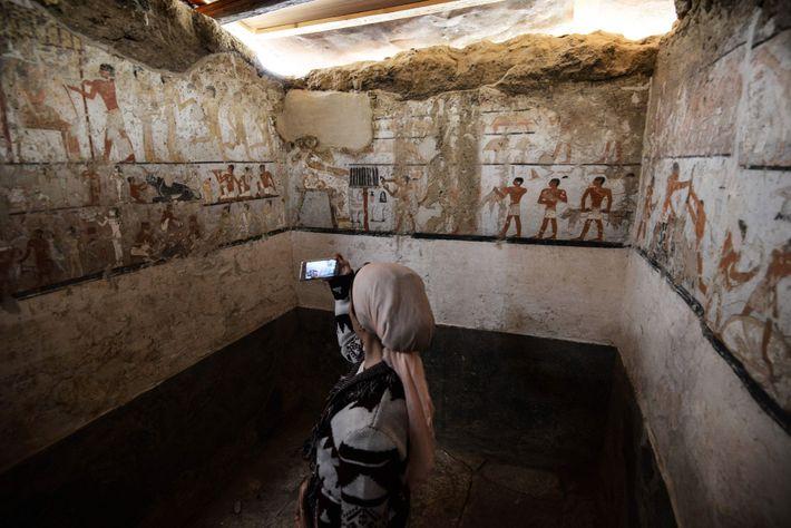 Túmulo de uma Mulher Egípcia de Alto Estatuto