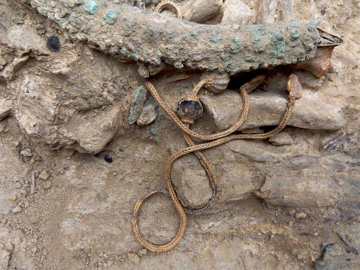 Idade do guerreiro bronze grego