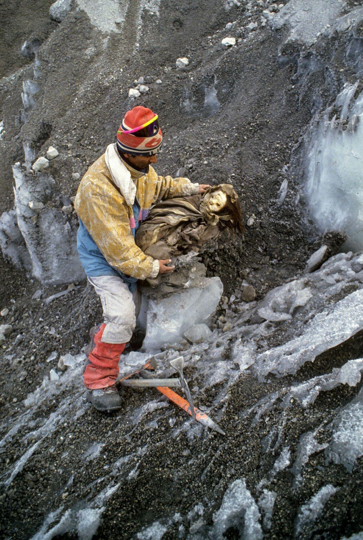A Donzela de Gelo, Peru