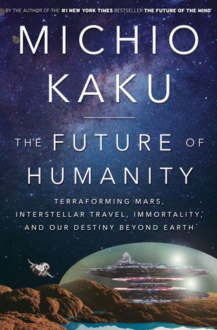 """Fotografia da capa do livro """"O Futuro da Humanidade"""""""