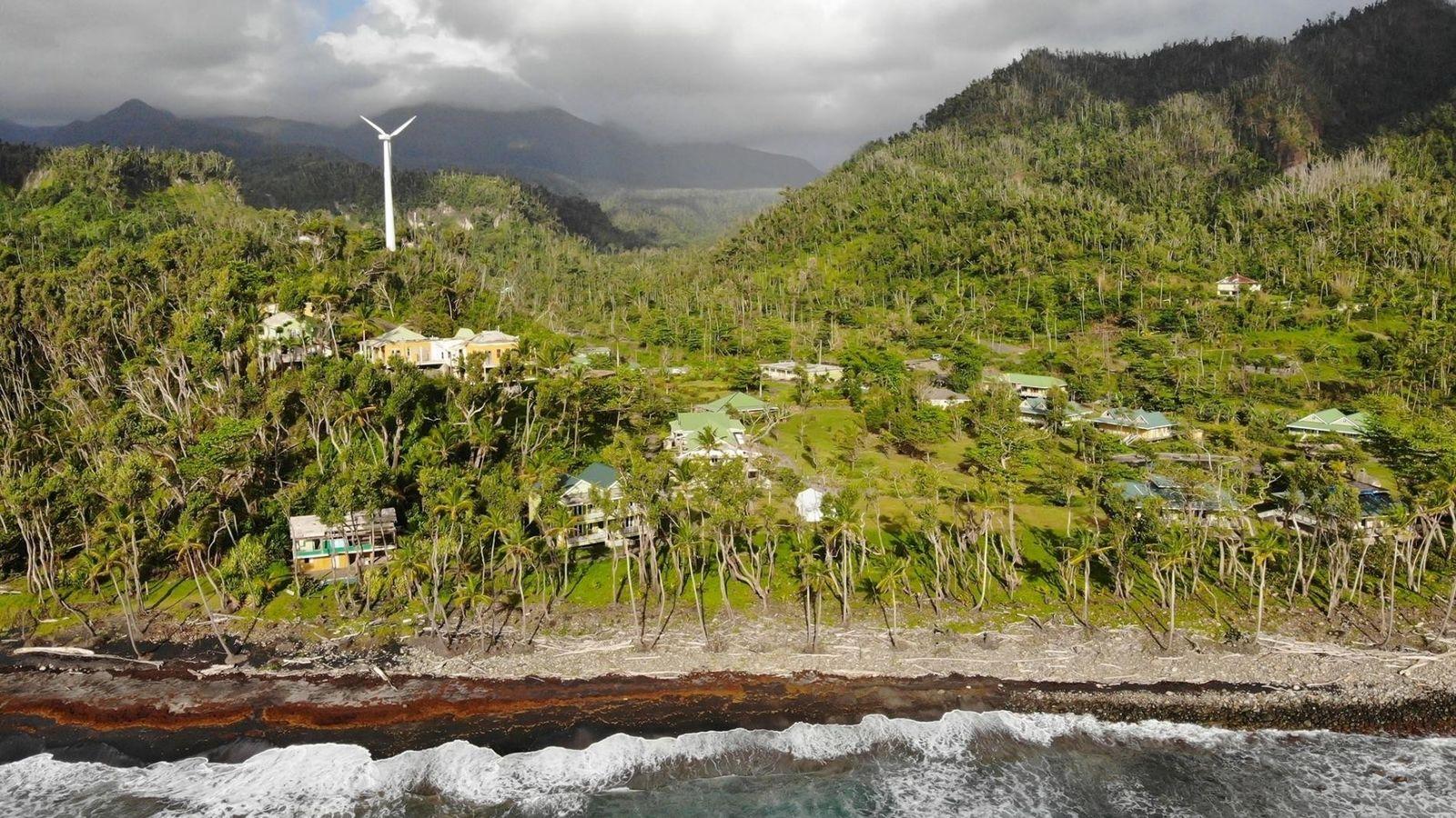 ilha da Dominica