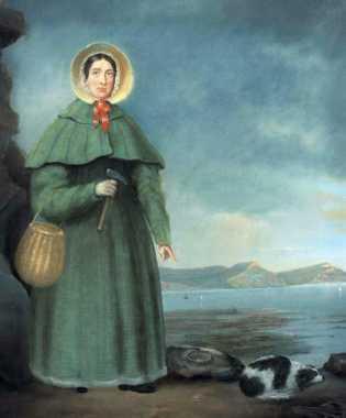 retrato de Mary Anning