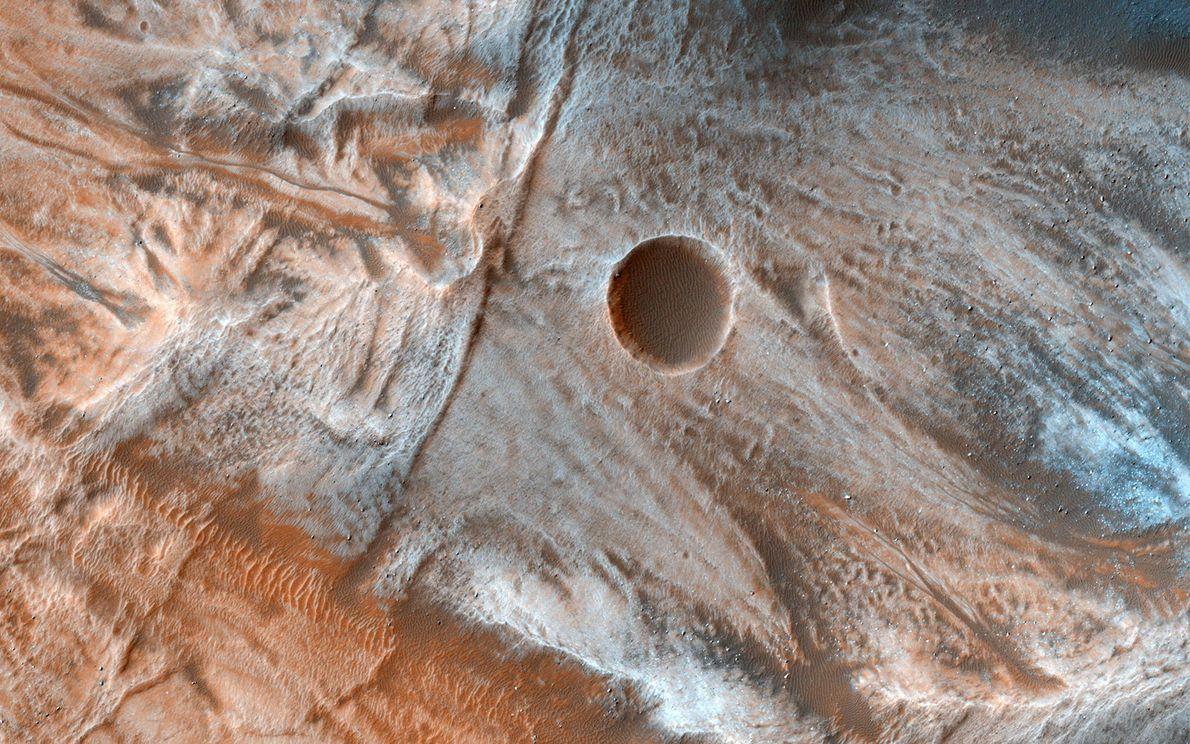 latitudes médias de Marte