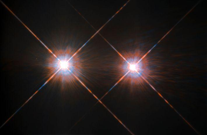 Alpha Centauri A e B