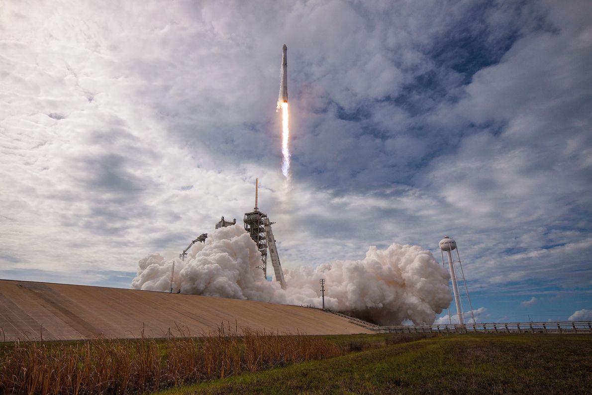 Lançamento SpaceX de uma nave já utilizada