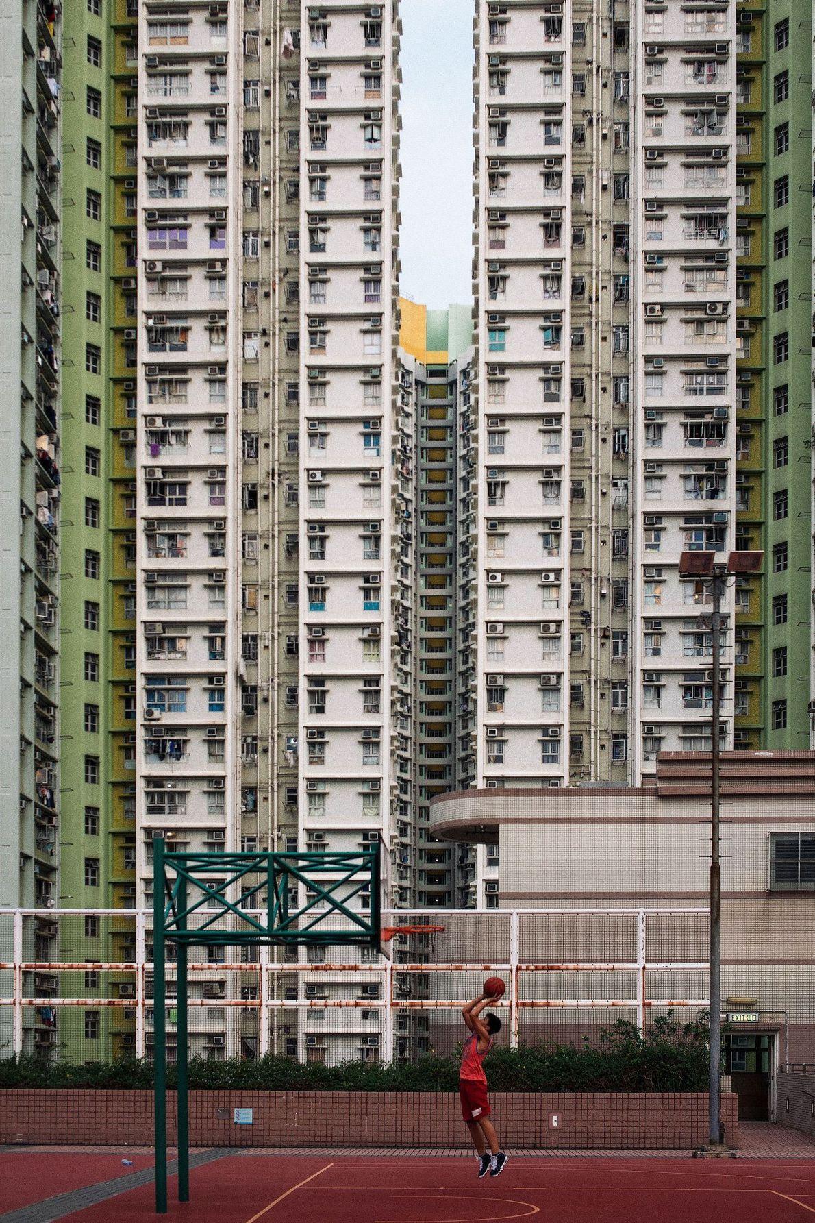 Aros em Hong Kong
