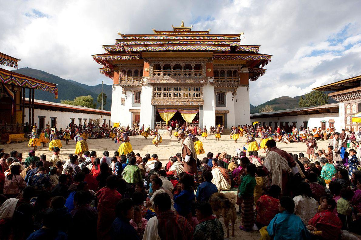 Mosteiro Gangtey, Butão