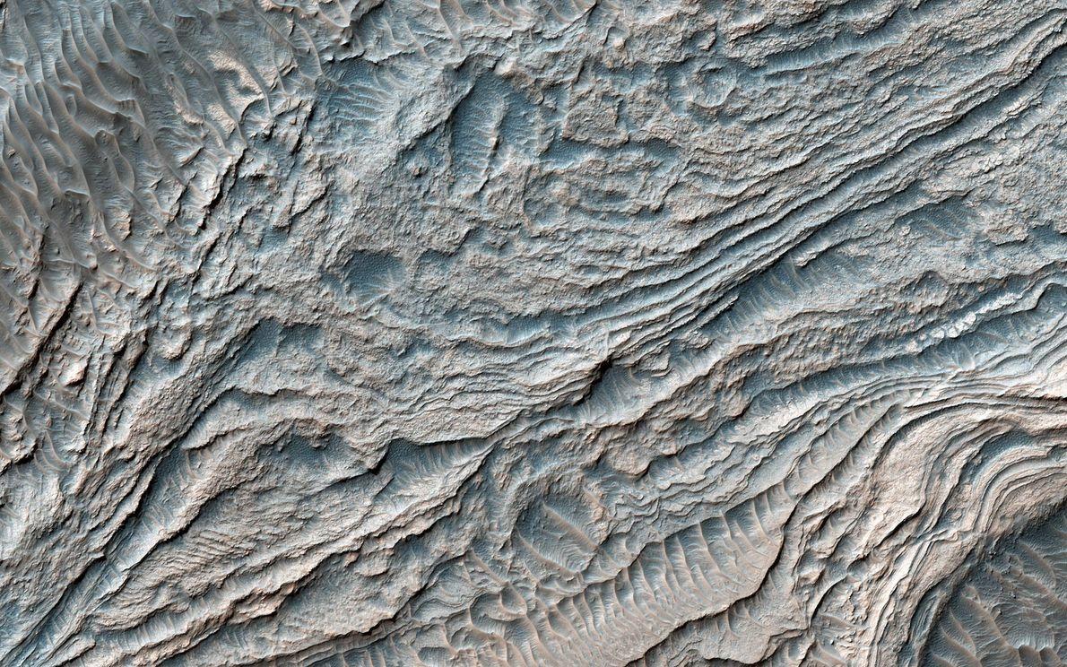 imagem captada pelo Orbitador de Reconhecimento da NASA