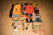 mantimentos equipamento mochila escalada